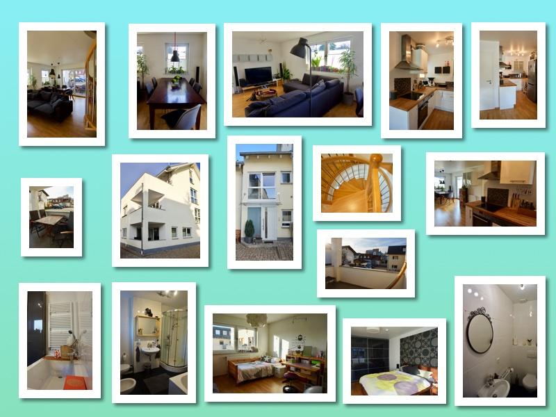 Collage Dieburg Maisonette