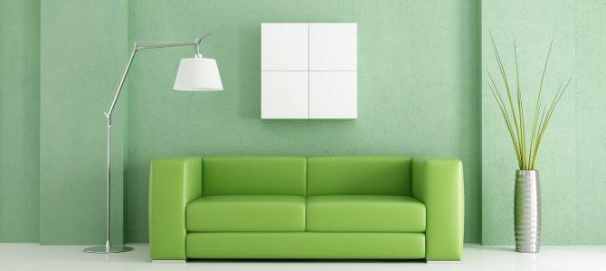 Wohntrend 2016 – grüne Möbel mit beruhigender Wirkung